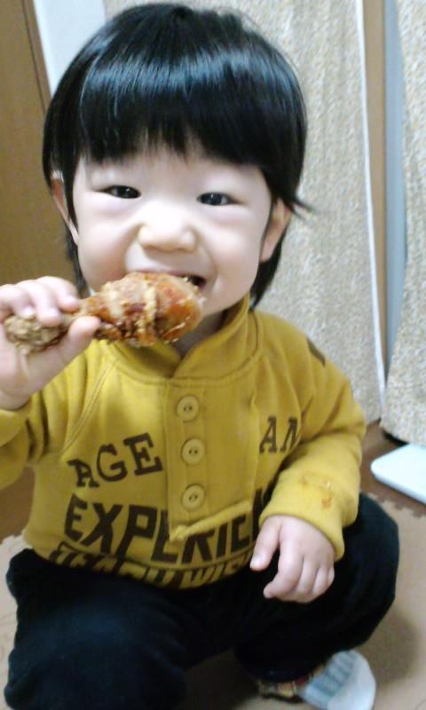 2才の誕生日写真